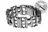 - .Браслет Leatherman TREAD Stainless Steel #832325